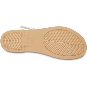 Crocs Tulum Sandals Women oyster/tan